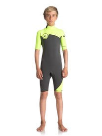 2mm Syncro Series Back Zip - Short Sleeve Spring Suit  EQBW503004