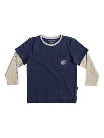 Retro Beach - Double Sleeve T-Shirt for Boys 2-7  EQKKT03162