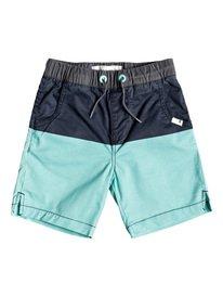 Yellow Daze - Elasticated Shorts for Boys 2-7  EQKWS03173