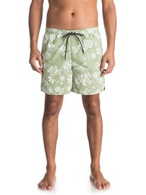 "Waterman Om Floral 17"" - Swim Shorts for Men  EQMJV03027"