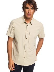 Waterman Salt Water Reloaded - Short Sleeve UPF 30 Shirt for Men  EQMWT03222