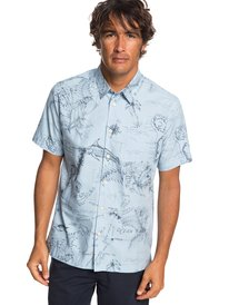 8449cfc0af6fb Waterman Pacific Records - Short Sleeve Shirt for Men EQMWT03242