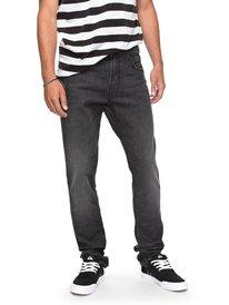 Distorsion Black - Slim Fit Jeans for Men  EQYDP03358
