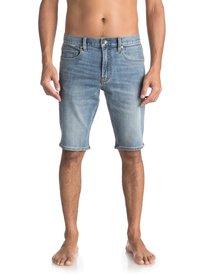 Revolver Surf Blue - Technical Denim Shorts for Men  EQYDS03077