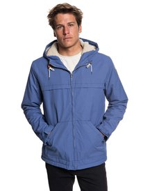 ef4b63f78a31 Wanna - Water-Resistant Hooded Parka for Men EQYJK03434