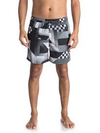 "Checker 17"" - Swim Shorts for Men  EQYJV03319"