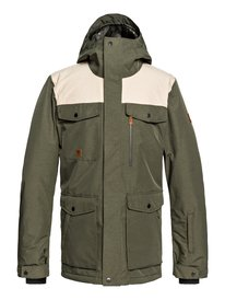 Men s Ski Jackets - Best Ski Jackets for Guys from   Quiksilver b981caf2e5