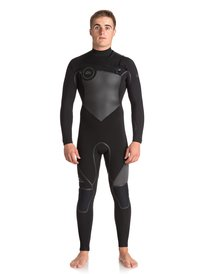 4 3mm Syncro Plus - Chest Zip Wetsuit for Men EQYW103044 66441a3bb95