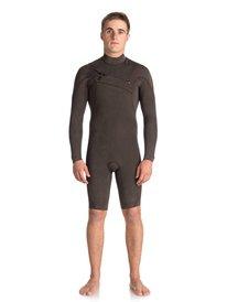 4546b3acc9 ... 2 2mm Quiksilver Originals Monochrome - Chest Zip Long Sleeve Springsuit  for Men EQYW403008