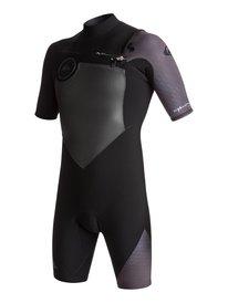 1daa156169 2 2mm Highline Plus - Short Sleeve Chest Zip Springsuit for Men EQYW503005