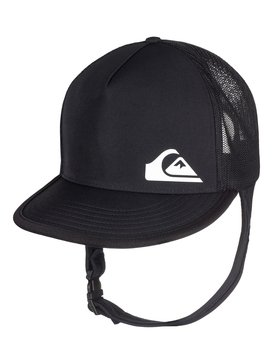 Quiksilver Bushmaster Surf Sun Protection Bucket Hat Black L XL AQYHA03878 2bd1cd90289