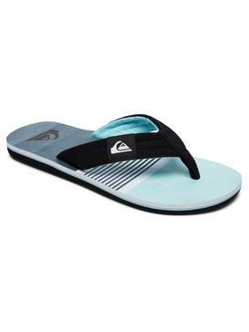Quiksilver Coastal Oasis - Sandals - Sandalen - Männer - EU 45 - Grau vfyEbV