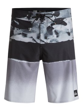 QK BOARDSHORT BLOCKED RESIN CAMO 20 IMP  BR60012498