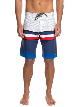 QK BOARDSHORT BLOCKED HAWAII  BR60012520