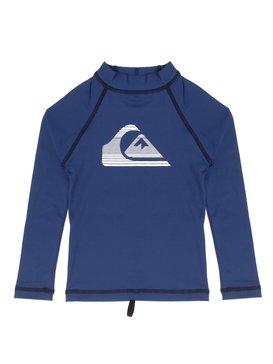 QK CAMISETA SURF KIDS STRIPE LOGO LS  BR66601015
