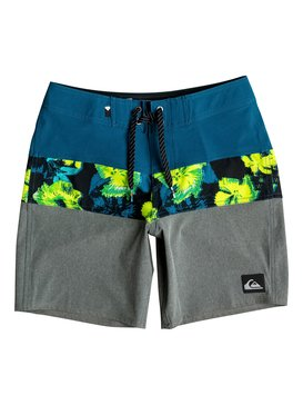 "Panel Blocked Vee 16"" - Board Shorts  EQBBS03128"