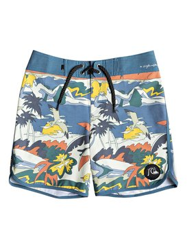 "Highline Feelin Fine 15"" - Board Shorts for Boys 8-16  EQBBS03352"