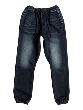Fonic Dark Blue - Slim Fit Denim Joggers  EQBDP03120