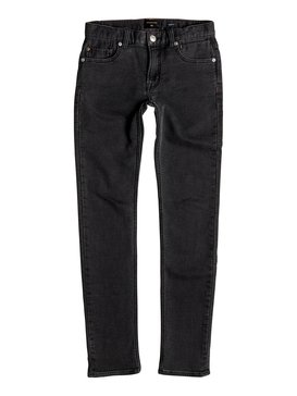 Distorsion Fleece Grey - Slim Fit Jersey Denim Jeans  EQBDP03125