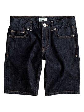 Distorsion Rinse - Denim Shorts  EQBDS03044