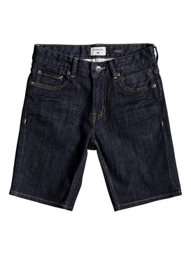 Distorsion Rinse - Denim Shorts for Boys 8-16  EQBDS03052