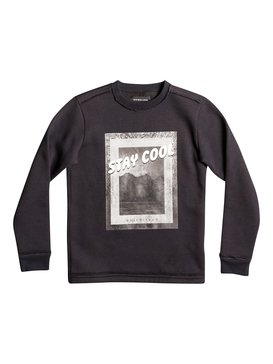 Stay Cool - Sweatshirt for Boys 8-16  EQBFT03374