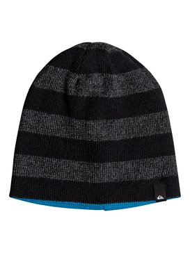 REVERSIBLE STRIPE BEANIE YOUTH  EQBHA03041