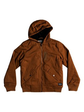 Hana Go - Water-Resistant Hooded Jacket for Boys 8-16  EQBJK03155