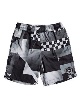 """Checker 15"""" - Swim Shorts for Boys 8-16  EQBJV03142"""