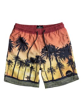 "Sunset Vibes 15"" - Swim Shorts for Boys 8-16  EQBJV03171"