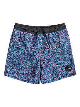 "Variable 14"" - Swim Shorts for Boys 8-16  EQBJV03192"