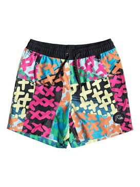 "Variable 14"" - Swim Shorts for Boys 8-16  EQBJV03192"