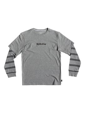 Warrior Soul - Double Sleeve T-Shirt for Boys 8-16  EQBKT03207