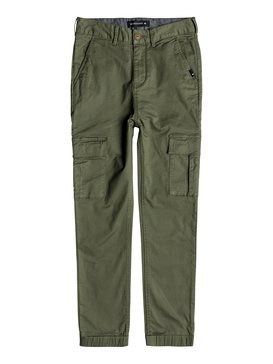 Takamatsu - Slim Fit Cargo Trousers for Boys 8-16  EQBNP03070