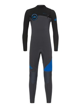 3/2mm Syncro Series - Chest Zip GBS Wetsuit for Boys 8-16  EQBW103019