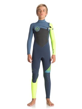 4/3mm Highline Plus - Chest Zip Wetsuit for Boys 8-16  EQBW103032