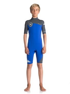 2/2mm Syncro Series - Short Sleeve Back Zip FLT Springsuit  EQBW503004