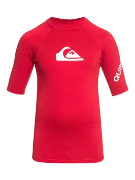 All Time - Short Sleeve UPF 50 Rash Vest for Boys 8-16  EQBWR03006