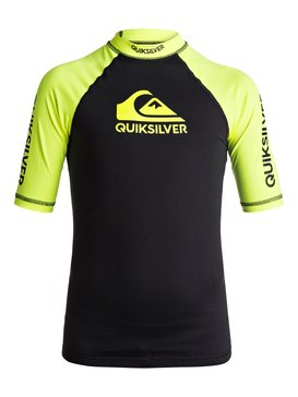 On Tour - Short Sleeve UPF 50 Rash Vest for Boys 8-16  EQBWR03039