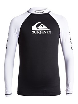 On Tours - Long Sleeve UPF 50 Rash Vest for Boys 8-16  EQBWR03040