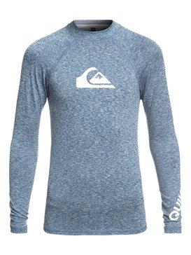 All Time - Long Sleeve UPF 50 Rash Vest for Boys 8-16  EQBWR03047