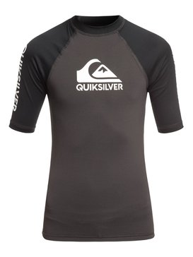 On Tour - Short Sleeve UPF 50 Rashguard for Boys 8-16  EQBWR03056