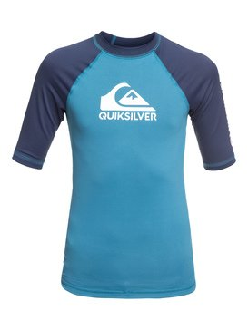 On Tour - Short Sleeve UPF 50 Rash Vest for Boys 8-16  EQBWR03079