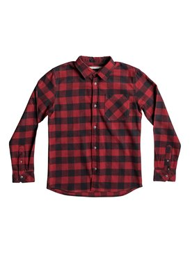 Motherfly Flannel - Long Sleeve Shirt for Boys 8-16  EQBWT03184