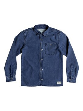 Yoko Meshi - Long Sleeve Denim Shirt  EQBWT03220