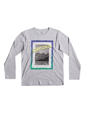Classic Stay Cool - Long Sleeve T-Shirt for Boys 8-16  EQBZT03568