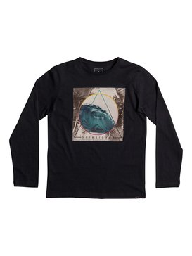 Classic Bermuda Trian - Long Sleeve T-Shirt for Boys 8-16  EQBZT03569