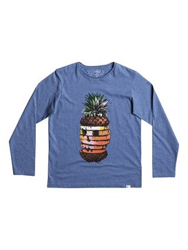 Classic Hot Pineapple - Long Sleeve T-Shirt  EQBZT03574
