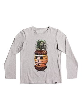 Classic Hot Pineapple - Long Sleeve T-Shirt for Boys 8-16  EQBZT03574
