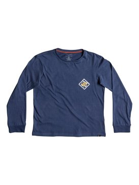 Carbon Finish 80 Prism - Super-Soft Long Sleeve T-Shirt for Boys 8-16  EQBZT03580